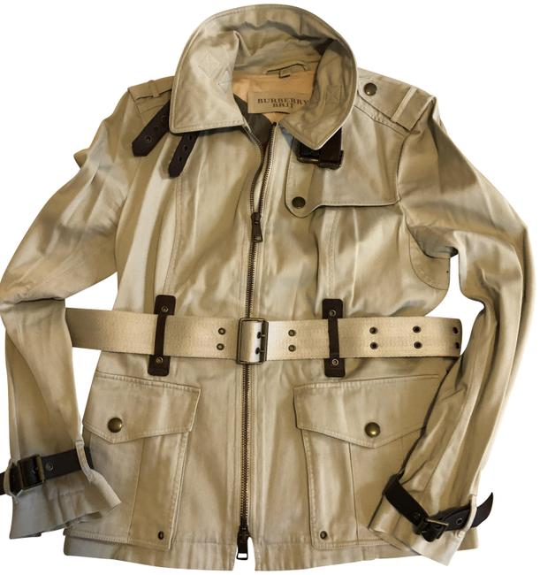 Item - Khaki Belted Jacket Coat Size 12 (L)