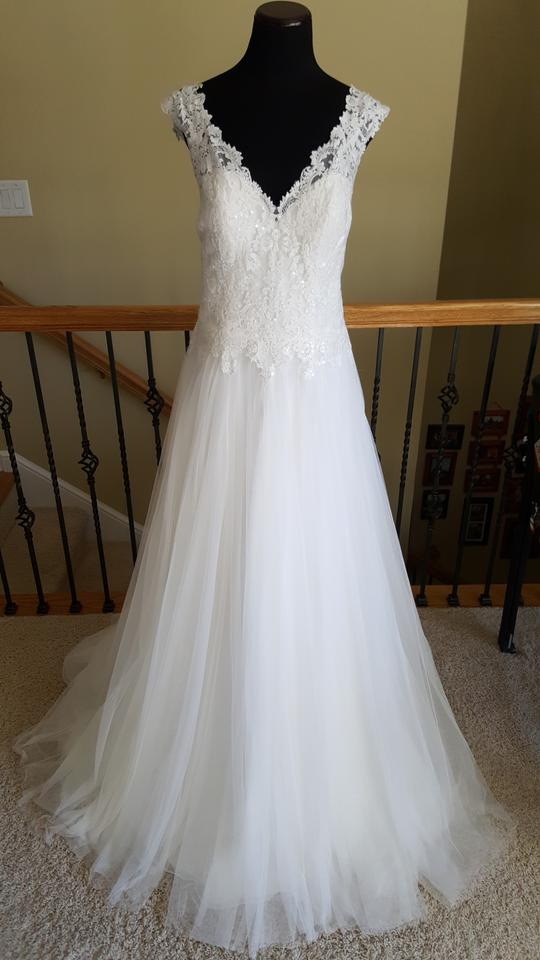 496bd3340439 Maggie Sottero Ivory Hensley Wedding Dress Size 16 (XL, Plus 0x) Image 0 ...