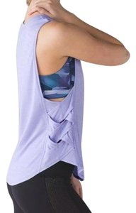 Lululemon size 6 heathered lilac lululemon var-City muscle tank