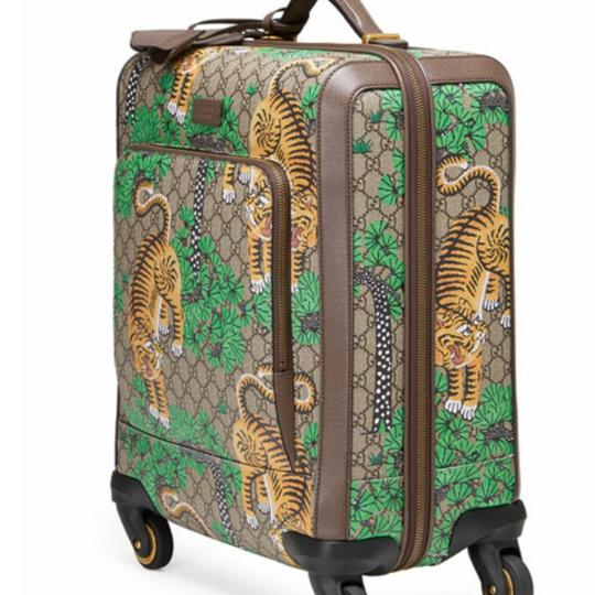 Gucci GG SUPREME BENGAL TROLLEY Travel Bag