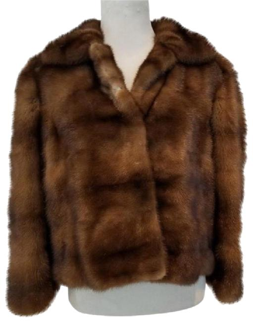 Fendi Brown Mink Coat Size 8 (M) Fendi Brown Mink Coat Size 8 (M) Image 1