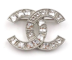 Chanel Round and Princess Cut CC Brooch