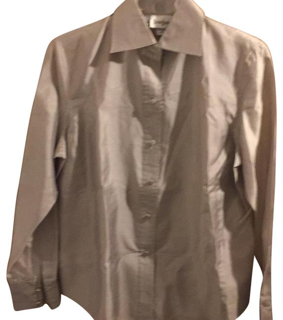 Preload https://img-static.tradesy.com/item/22799753/neiman-marcus-silver-starington-by-charlie-blouse-size-6-s-0-1-650-650.jpg
