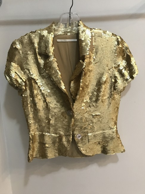 Preload https://img-static.tradesy.com/item/22799888/twelfth-st-by-cynthia-vincent-gold-embellised-p-vest-size-0-xs-0-0-650-650.jpg