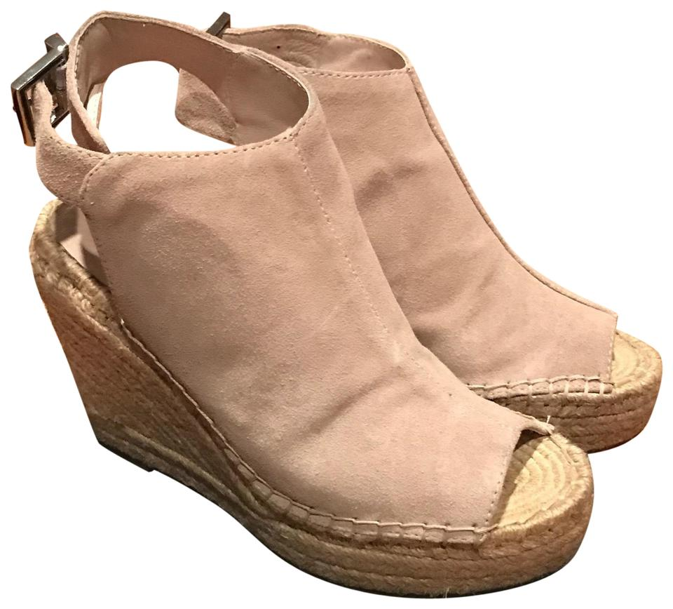 3fe3ec9463 Kenneth Cole Cream/Beige Olivia Espadrille Sandals Wedges Size US 7 ...