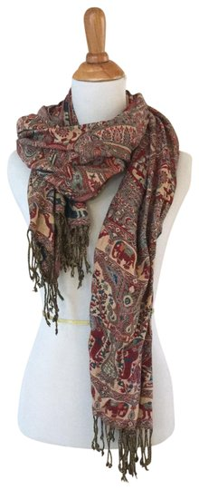 Preload https://img-static.tradesy.com/item/22800307/red-wine-paisley-jacquard-w-accents-of-blue-scarfwrap-0-1-540-540.jpg