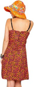 Lirome short dress Multicolor Floral Bohemian Tribal Color-blocking on Tradesy