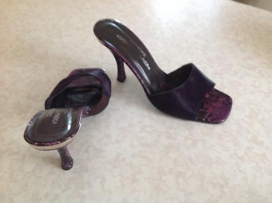 Donald J. Pliner Made In The Mountains Of Italy Purple Sandals