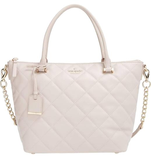 Preload https://img-static.tradesy.com/item/22800914/kate-spade-emerson-place-small-gina-mousse-frosting-quilted-leather-satchel-0-2-540-540.jpg