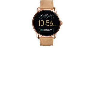 Fossil Fossil Gen 2 Smartwatch - Q Wander Light Brown Leather FTW2102
