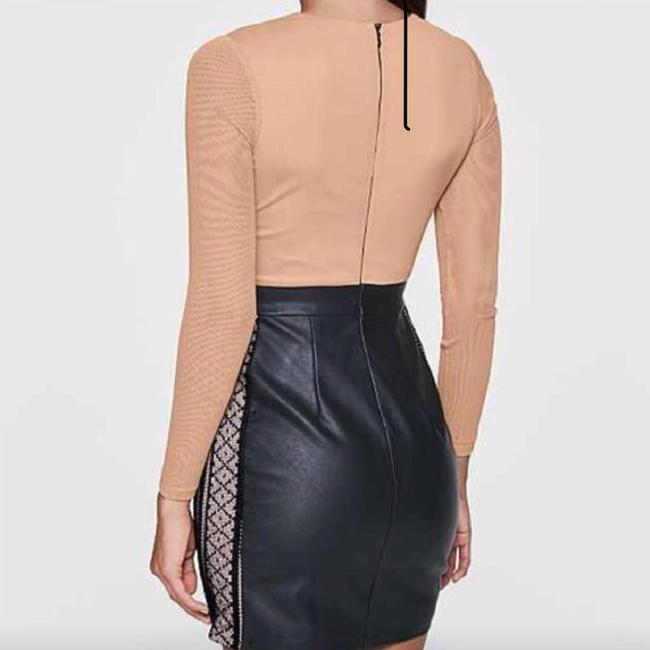VENUS short dress Black & Tan Dress on Tradesy
