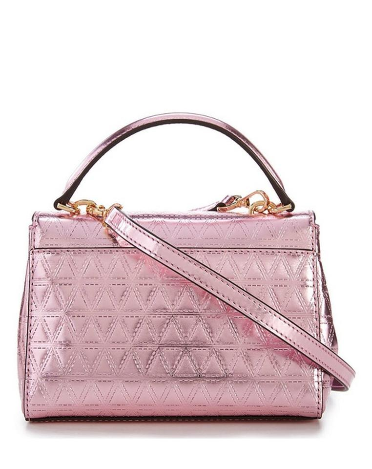 38323bcb2c7c Michael Kors Ava Quilted Pink Patent Leather Cross Body Bag - Tradesy