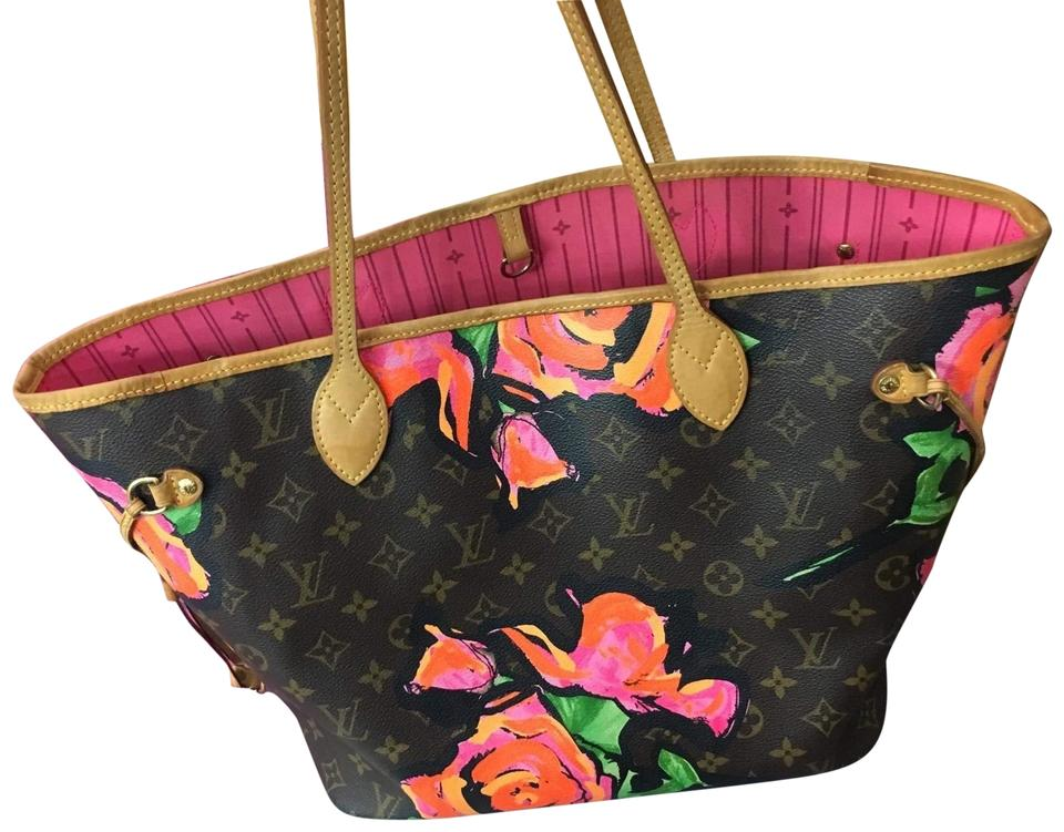 Louis Vuitton Speedy Tote in Louis Vuitton Stephen Sprouse Roses Neverfull  MM Limited Edition ... cce806d56c2bd
