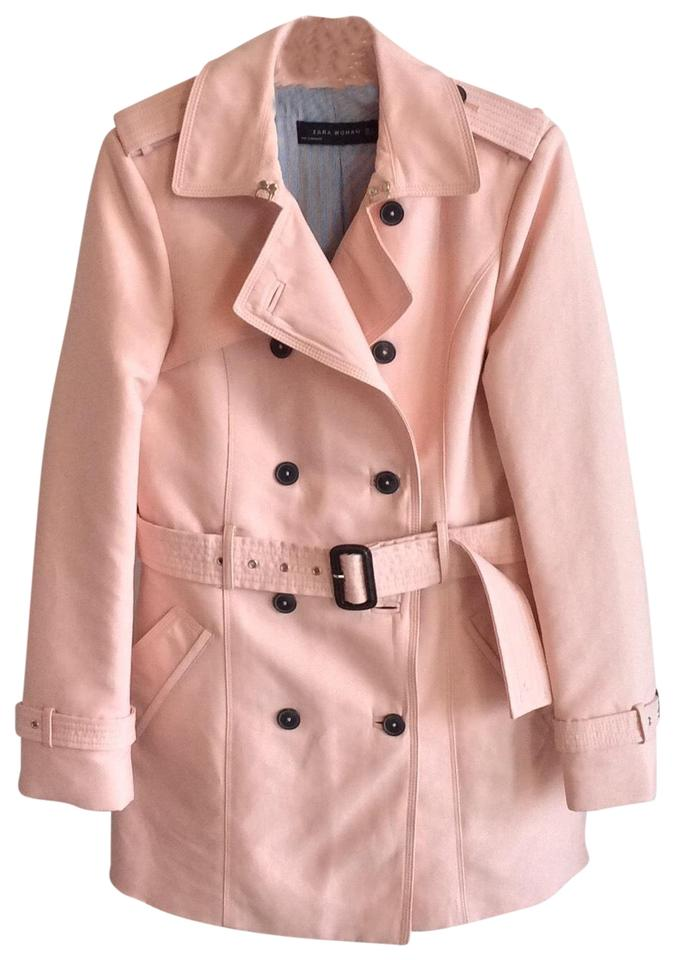 utterly stylish great deals 2017 online store Baby Pink Double Breasted Coat
