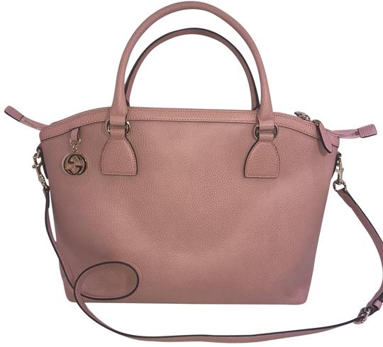 Preload https://item3.tradesy.com/images/gucci-gg-charm-pink-leather-tote-22801727-0-1.jpg?width=440&height=440
