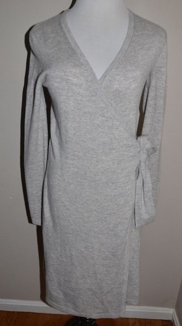 Diane von Furstenberg short dress Grey on Tradesy