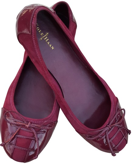 Preload https://item4.tradesy.com/images/cole-haan-cranberry-lace-up-suede-and-patent-flats-size-us-9-regular-m-b-22801823-0-6.jpg?width=440&height=440