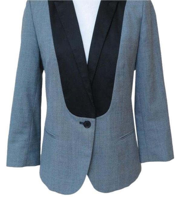 Preload https://item5.tradesy.com/images/zadig-and-voltaire-grey-with-black-details-varda-blazer-size-8-m-22801844-0-1.jpg?width=400&height=650