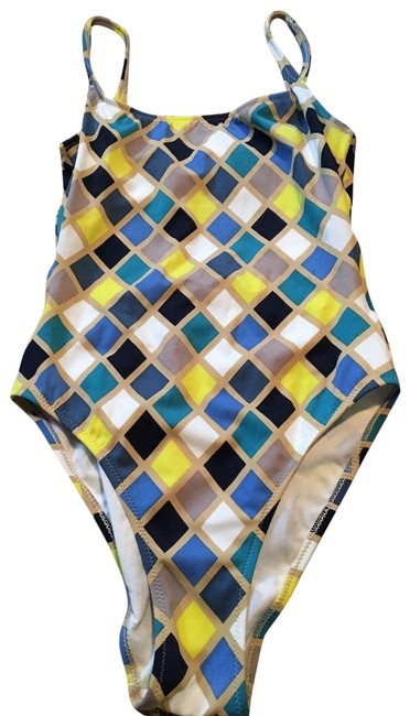 Preload https://img-static.tradesy.com/item/22801864/burberry-blue-yellow-womens-piece-checked-swimsuit-one-piece-bathing-suit-size-12-l-0-1-650-650.jpg