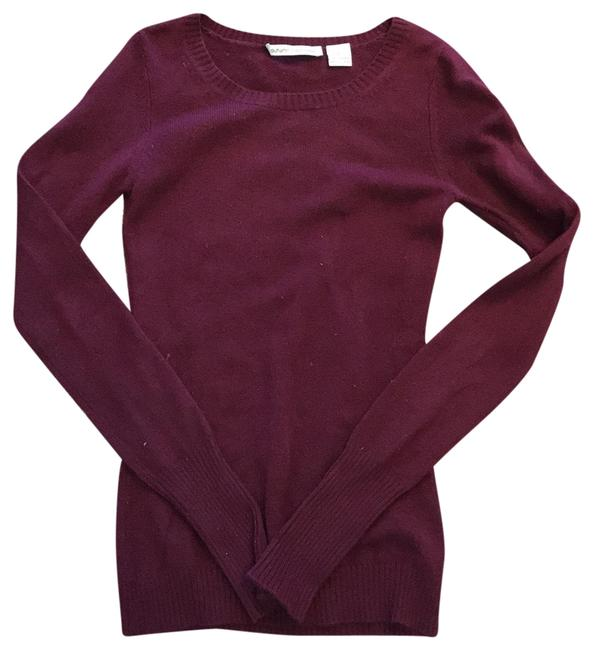 Preload https://item4.tradesy.com/images/autumn-cashmere-maroon-sweaterpullover-size-0-xs-22801928-0-1.jpg?width=400&height=650