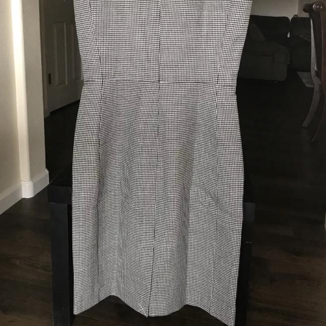 J.Crew Houndstooth Sheath Wool Tall Dress