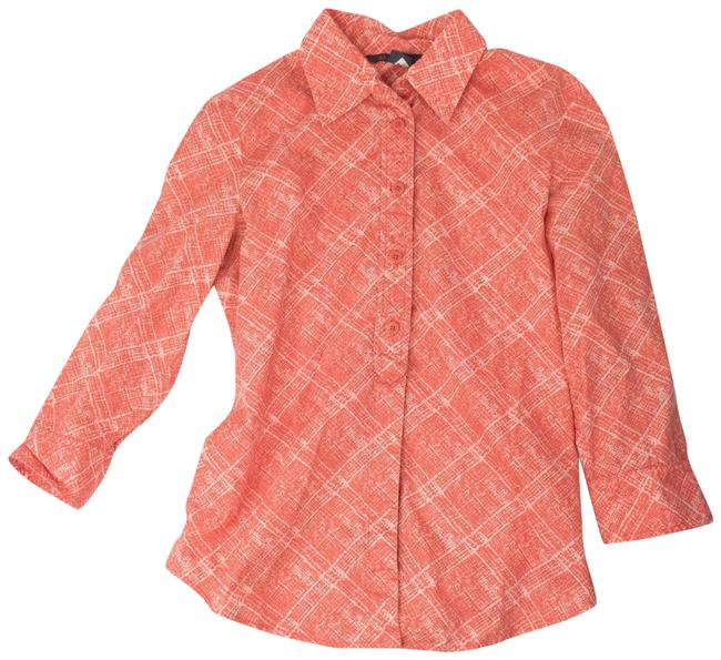 Preload https://item1.tradesy.com/images/ax-armani-exchange-coral-button-down-top-size-4-s-22802070-0-1.jpg?width=400&height=650