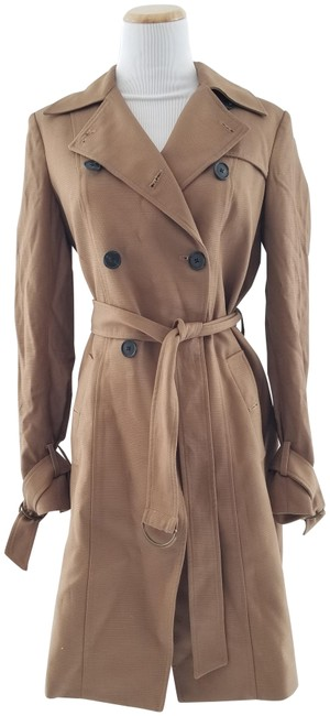 Item - Brown Hutton Trench Coat Jacket Size 6 (S)