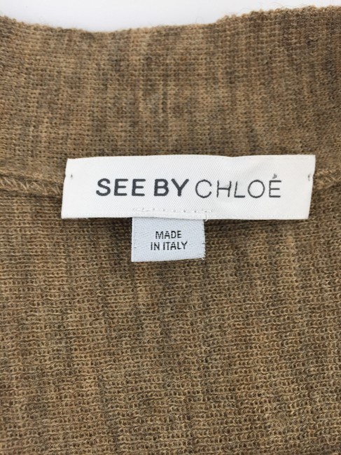 See by Chloé Wool Blend Cardigan