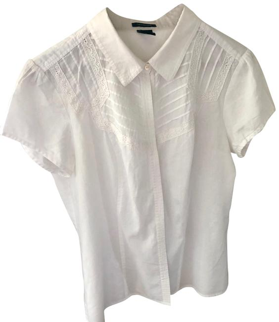 Preload https://item2.tradesy.com/images/calvin-klein-white-embroidered-blouse-size-12-l-22802151-0-1.jpg?width=400&height=650