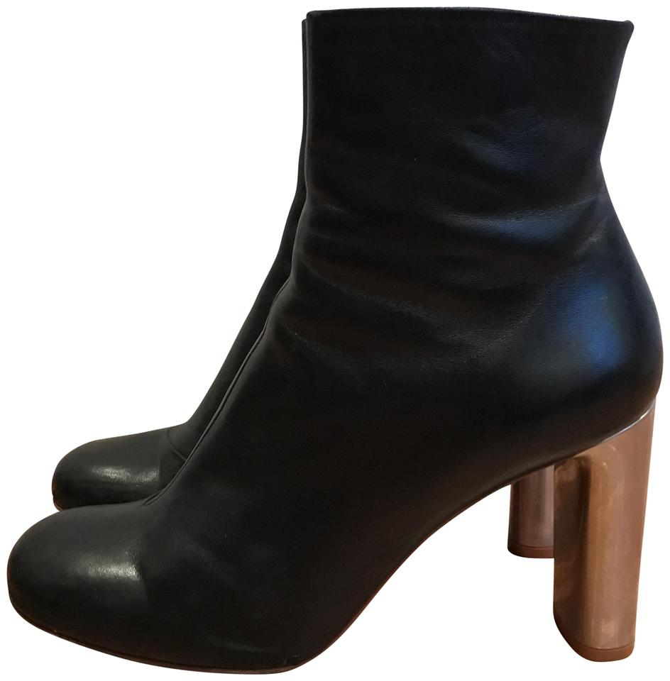 8f254711bdc Black Bam Ankle Boots/Booties