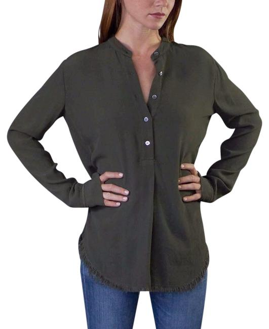 Preload https://item2.tradesy.com/images/raquel-allegra-henley-with-raw-edges-olive-sweater-22802191-0-1.jpg?width=400&height=650
