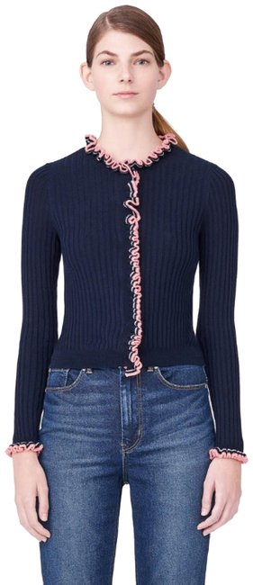 Preload https://item4.tradesy.com/images/rebecca-taylor-navy-combo-striped-cardigan-size-0-xs-22802213-0-1.jpg?width=400&height=650