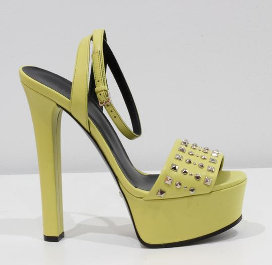 Gucci 374523 Sandal Sandals Yellow Platforms