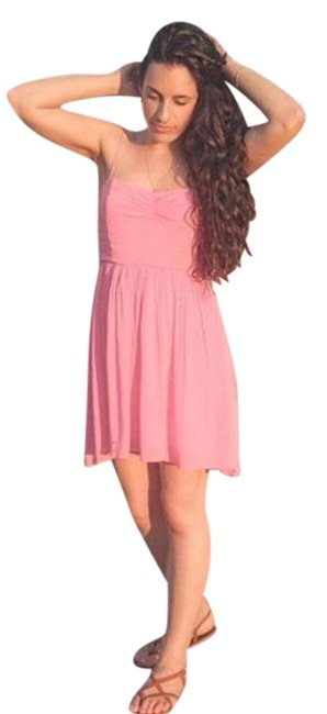 Preload https://item3.tradesy.com/images/urban-outfitters-pink-summer-short-casual-dress-size-0-xs-22802262-0-1.jpg?width=400&height=650