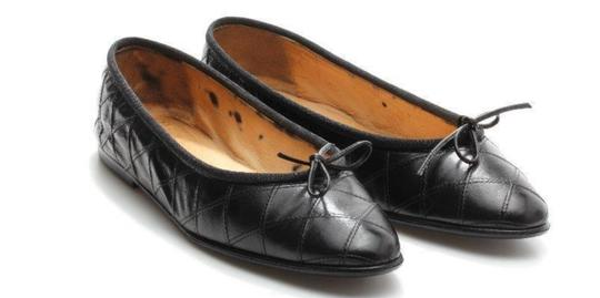 Chanel Limited Edition Black Flats
