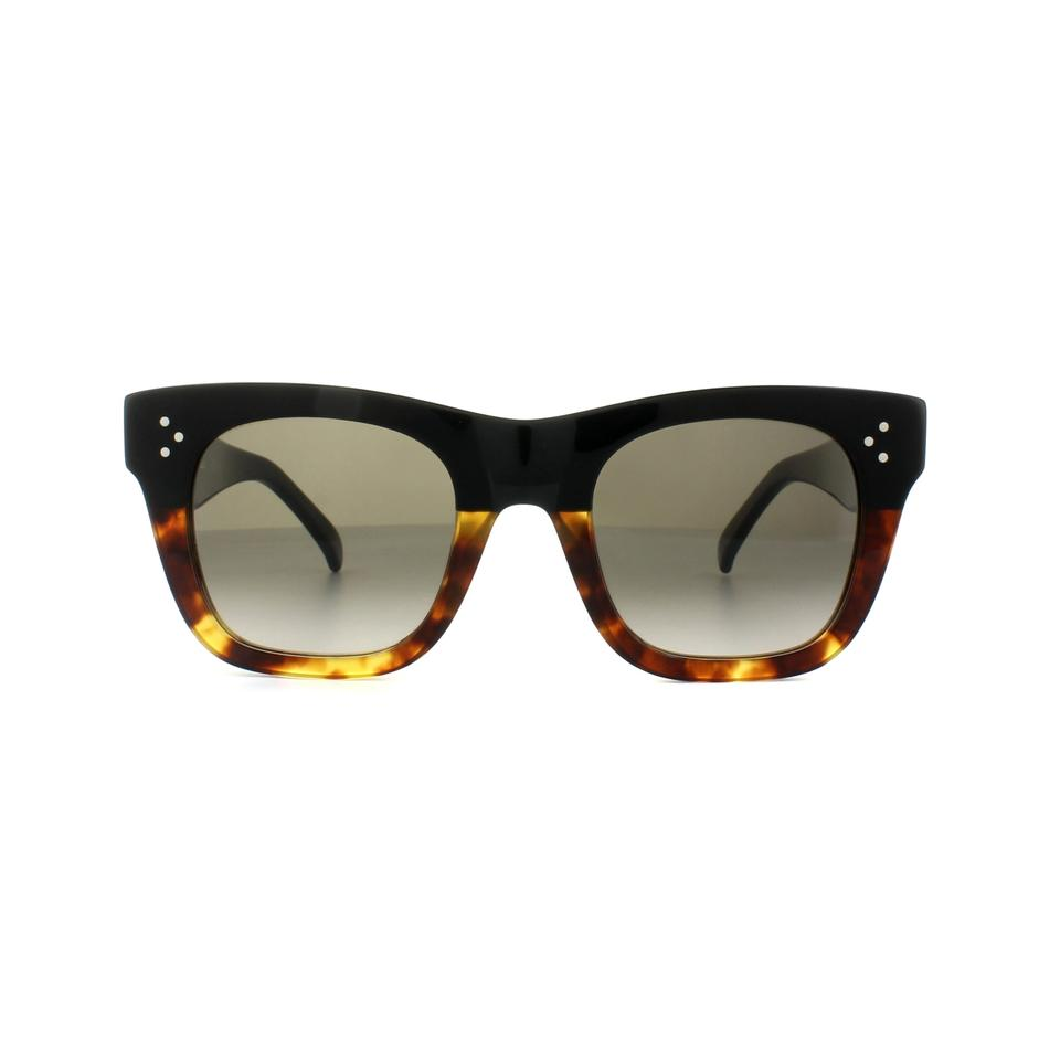 3b628f1598e77 Céline Black New Cl 41089 S Small Catherine Ombre Cat Eye Sunglasses -  Tradesy