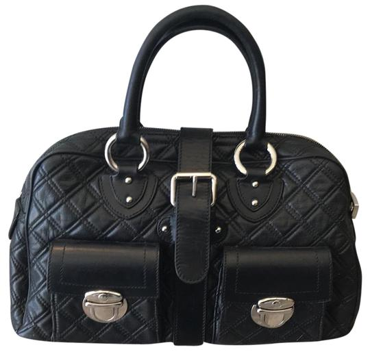 Preload https://item1.tradesy.com/images/marc-jacobs-black-push-lock-leather-satchel-22802440-0-1.jpg?width=440&height=440