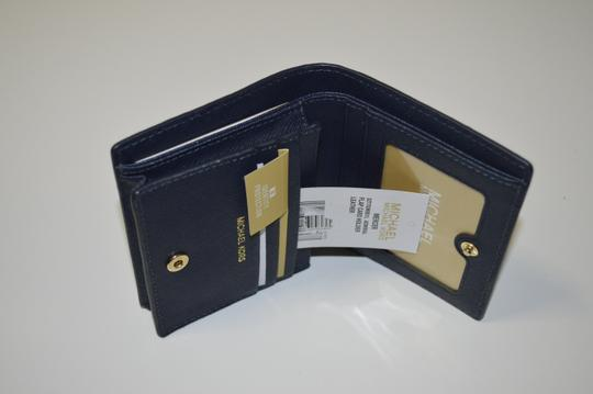 MICHAEL Michael Kors Mercer Flap Card Holder Admiral