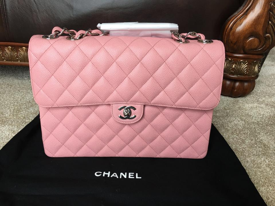 chanel promo code jumbo maxi quilted vintage pink caviar leather
