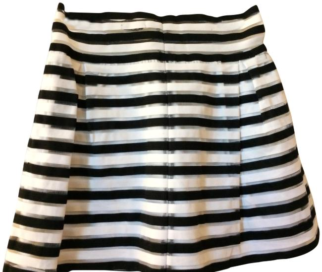 Preload https://item3.tradesy.com/images/cleo-black-white-and-silver-knee-length-skirt-size-8-m-29-30-22802667-0-1.jpg?width=400&height=650