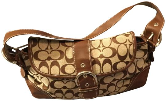Preload https://item4.tradesy.com/images/coach-praire-in-signature-jacquard-khaki-and-walnut-leather-monogram-satchel-22802713-0-11.jpg?width=440&height=440