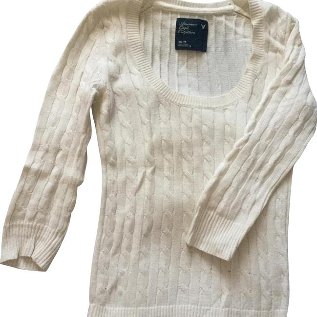 Preload https://item4.tradesy.com/images/american-eagle-outfitters-white-sweaterpullover-size-2-xs-22802778-0-1.jpg?width=400&height=650