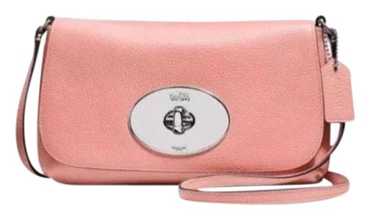 Preload https://item5.tradesy.com/images/coach-liv-pouch-f52896-pale-pink-leather-cross-body-bag-22802789-0-1.jpg?width=440&height=440