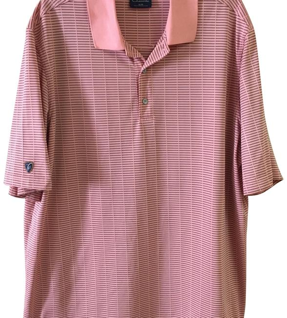 Preload https://item3.tradesy.com/images/salmon-pink-golf-polo-tee-shirt-size-os-one-size-22802832-0-1.jpg?width=400&height=650
