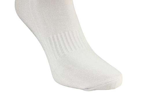 Barefoot Bamboo Barefoot Bamboo Unisex (Quarter) Cushion Ankle Socks - Set of 2