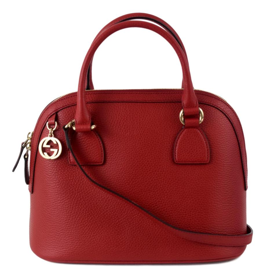 Gucci 449662 Purse Crossbody Satchel In Red