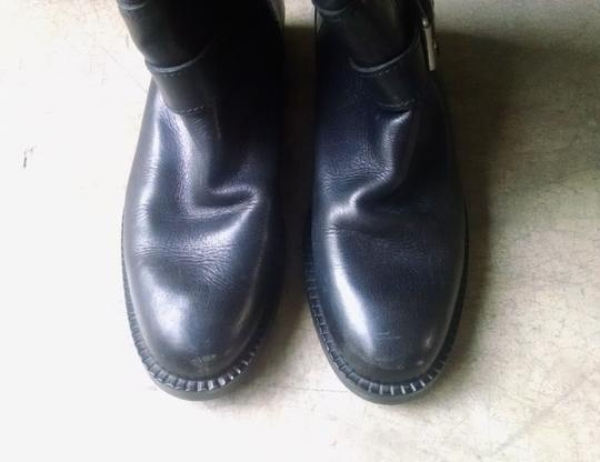 Barneys New York Riding Knee High Made In Italy Equestrian Biker Black Boots