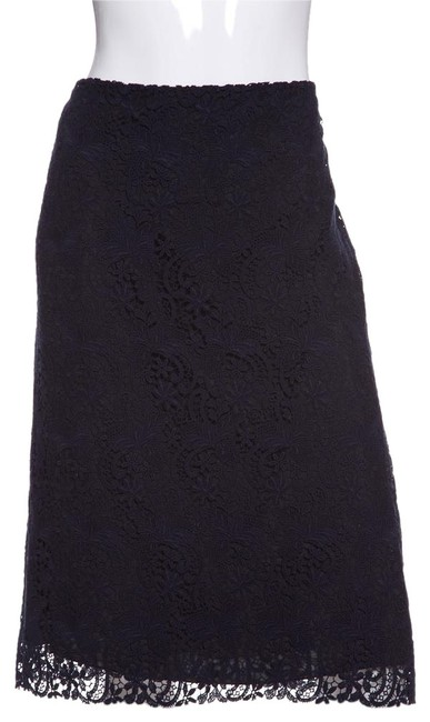 Preload https://item3.tradesy.com/images/nina-ricci-navy-blue-lace-pencil-knee-length-skirt-size-12-l-32-33-22803357-0-1.jpg?width=400&height=650