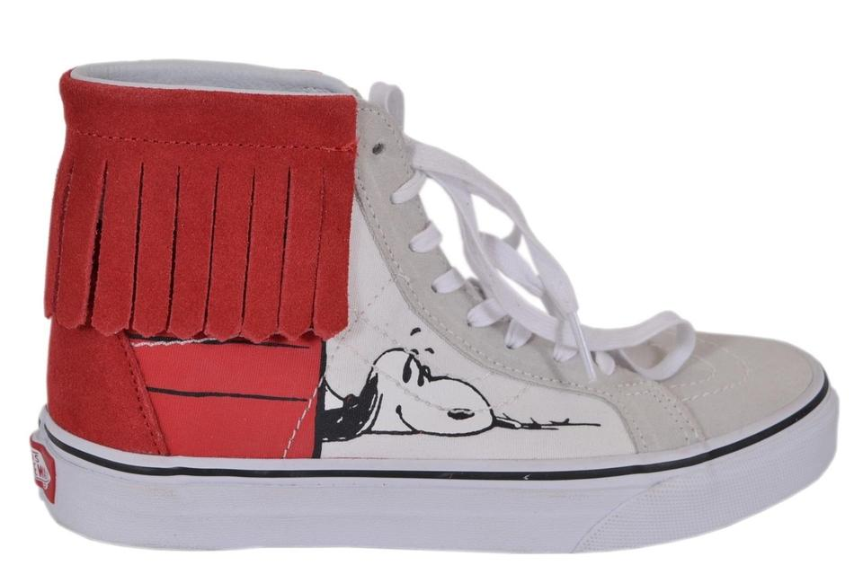 d7de6708f8 Vans Multicolor Women s Peanuts Snoopy Dog House Bone High Top ...