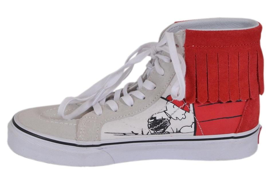 db39dc6ac66688 Vans Multicolor Women s Peanuts Snoopy Dog House Bone High Top Sneakers